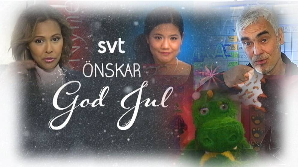 SVT önskar God Jul