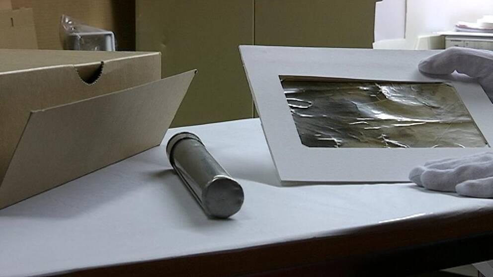 Rapporthylsorna användes för att kommunicera med marken i flygens barndom.
