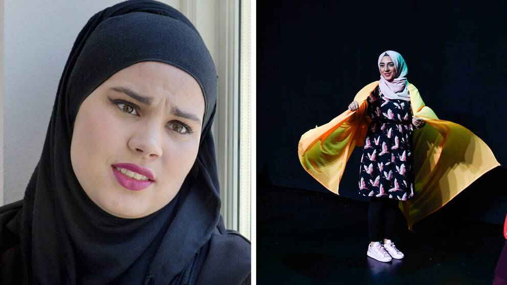 sana från skam och ur pjäsen svenska hijabis
