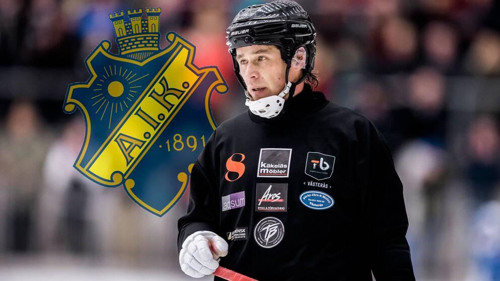 Rinat Shamsutov lämnar elitserieklubben Tillberga – för tredjeligalaget AIK.