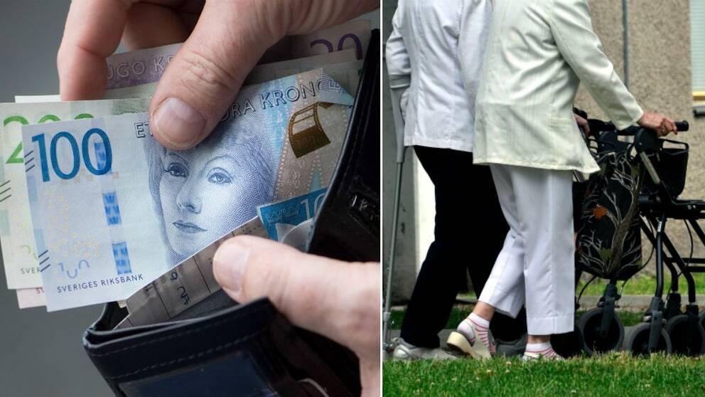 Pension, pengar, pensionärer