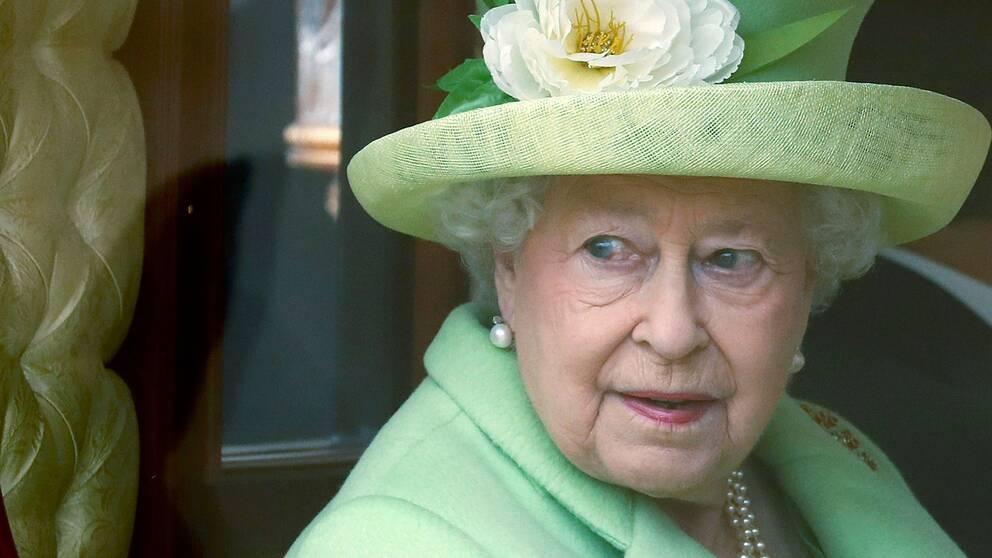 Brittiska drottningen Elizabeth.