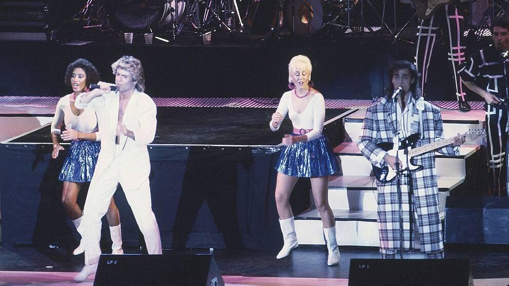 1985 var Wham ett av världens hetaste band. Det bestod av duon George Michael och Andrew Ridgeley.