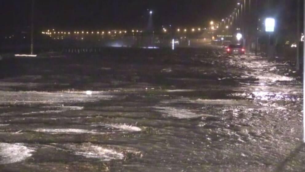 Nya översvämningar i Helsingborg
