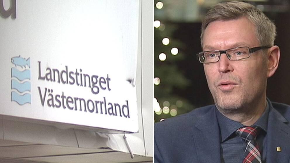 Erik Lövgren (S) regionstyrelsens ordförande i Västernorrland