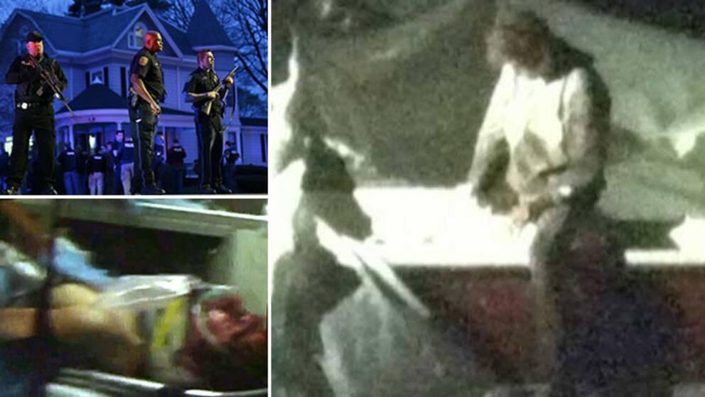 Tre personer gripna for bomberna i boston