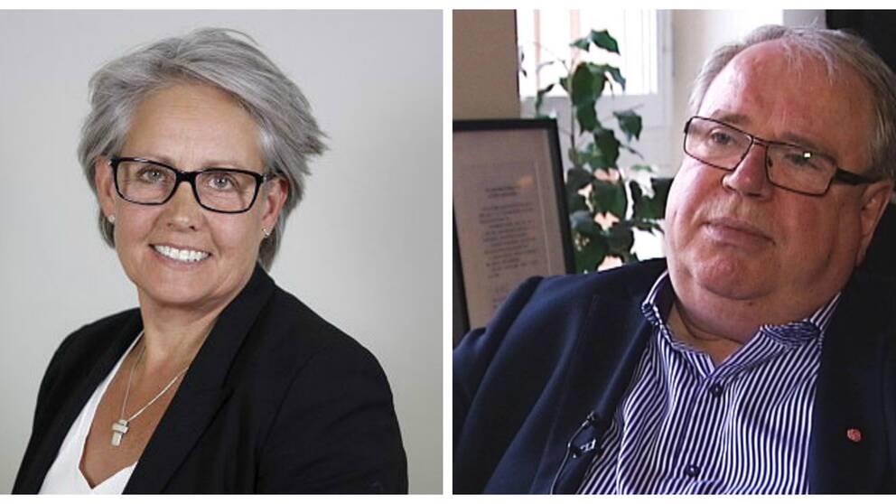 Tiina Ohlsson och Leif Nilsson (S) kommer att bytas ut i Region Dalarna.