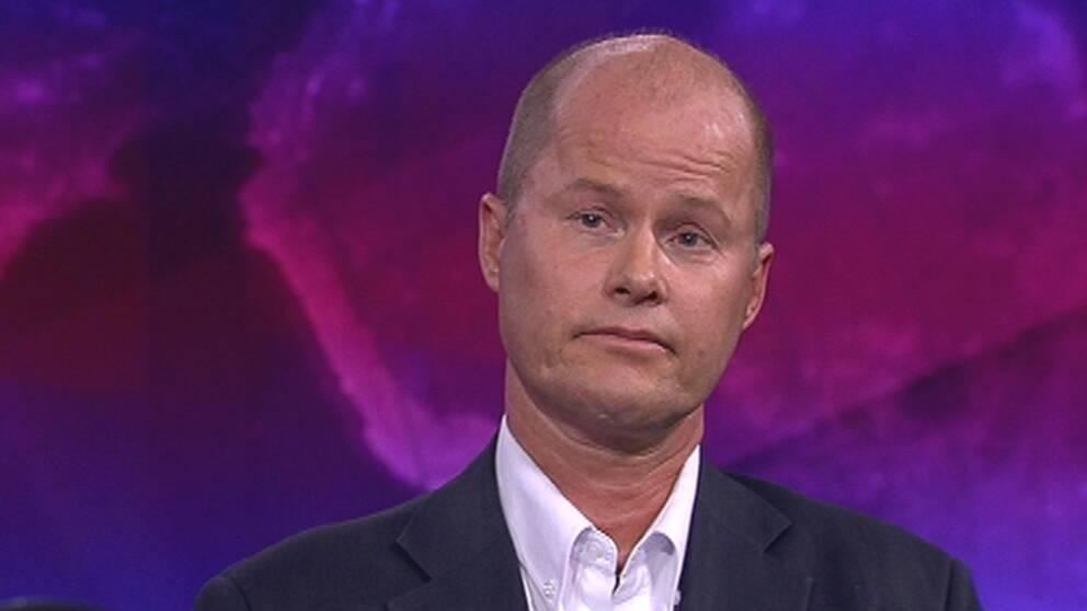 Jonas Fejes, oljeexpert på Miljöinstitutet.