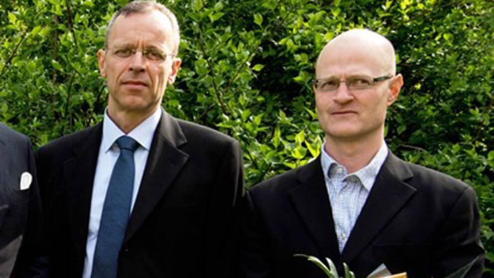 Thomas Fux och Matthias Corbascio.