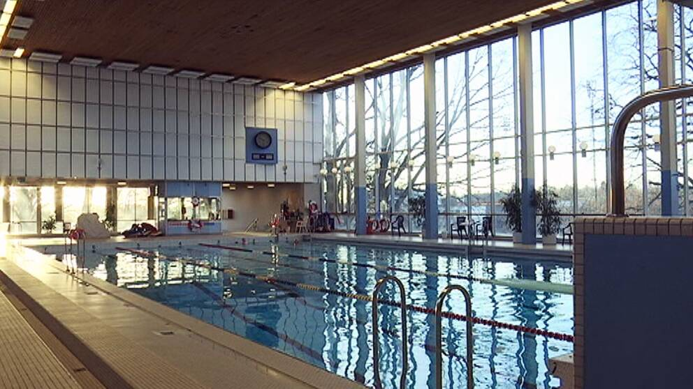 Kristiansborgsbadet Västerås, badhus, pool