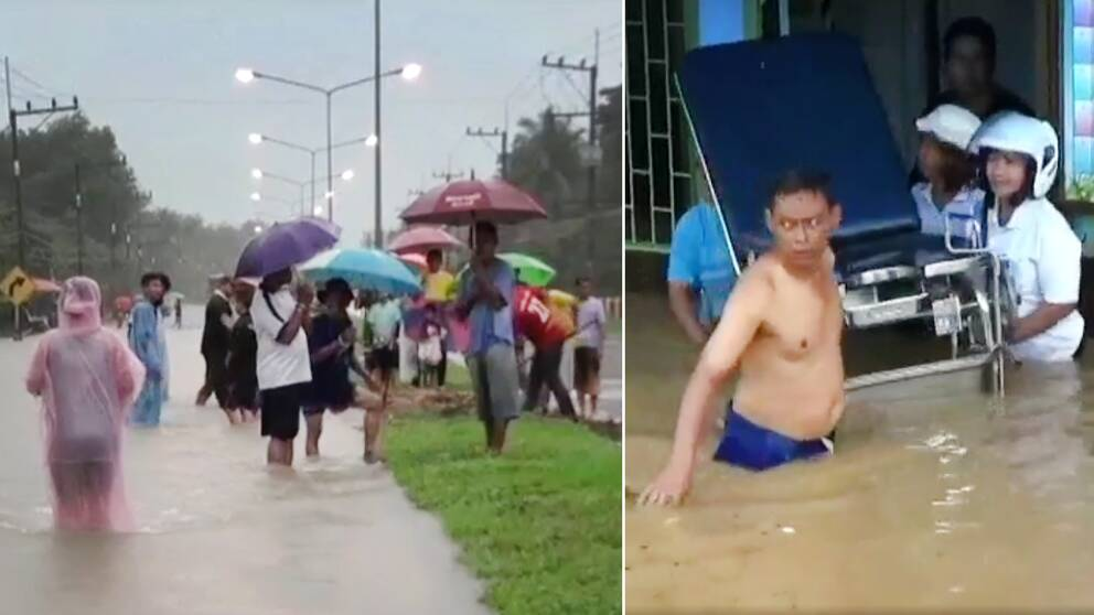 Kraftiga ovader i thailand