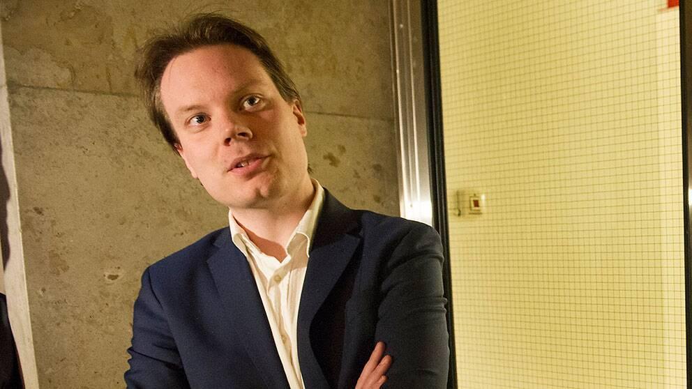 Martin Kinnunen, pressansvarig, Sverigedemokraterna