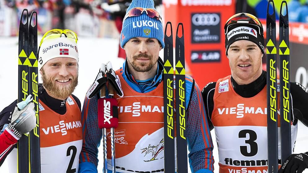 Herrarnas pall i Tour de Ski.