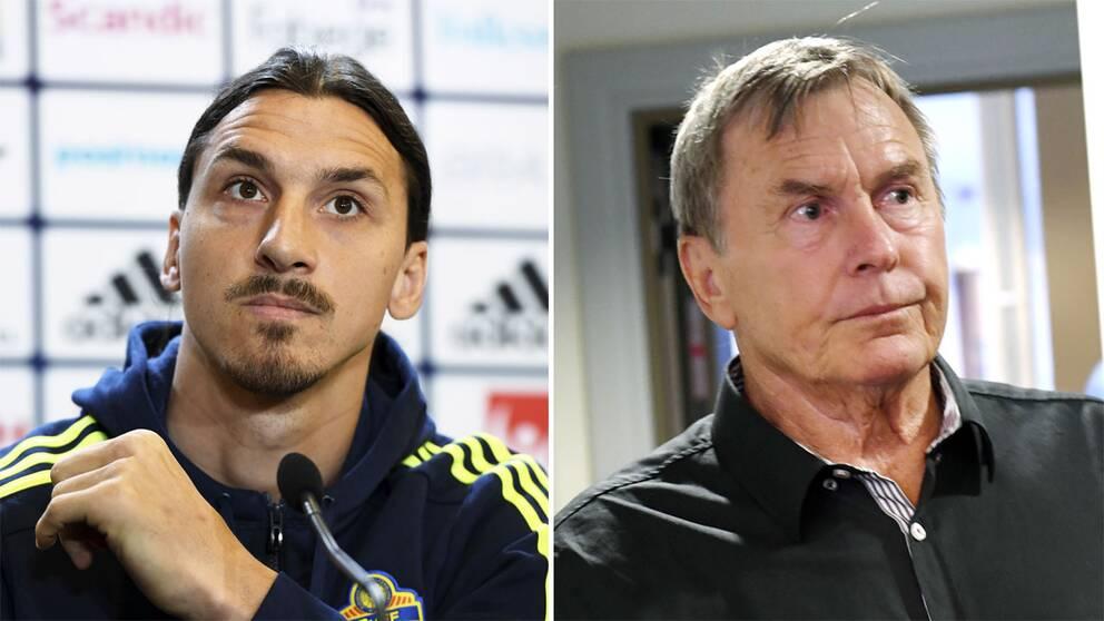 Zlatan Ibrahimovic och Ulf Karlsson