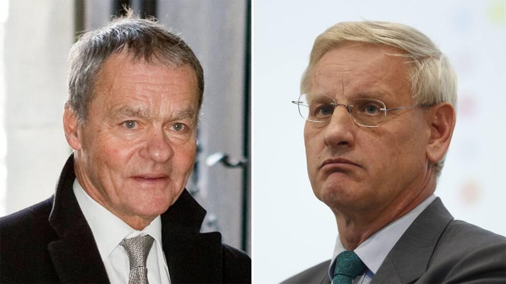 Ulf Dinkelspiel och Carl Bildt.