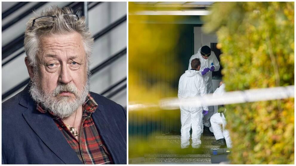 Krimonologen Leif GW Persson kommenterar dubbelmordet i Vallåkra