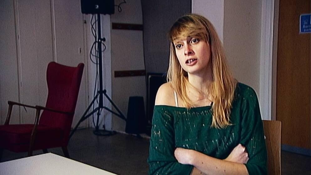 Alexandra Bazon är volontär på Crossroads och själv från Rumänien