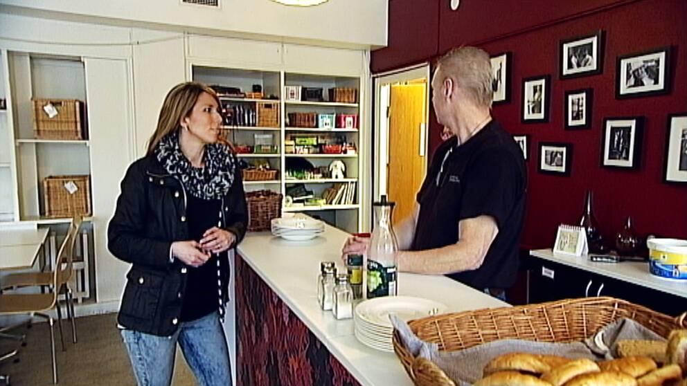 Elin Sjögedahl, projektledare på Crossroads