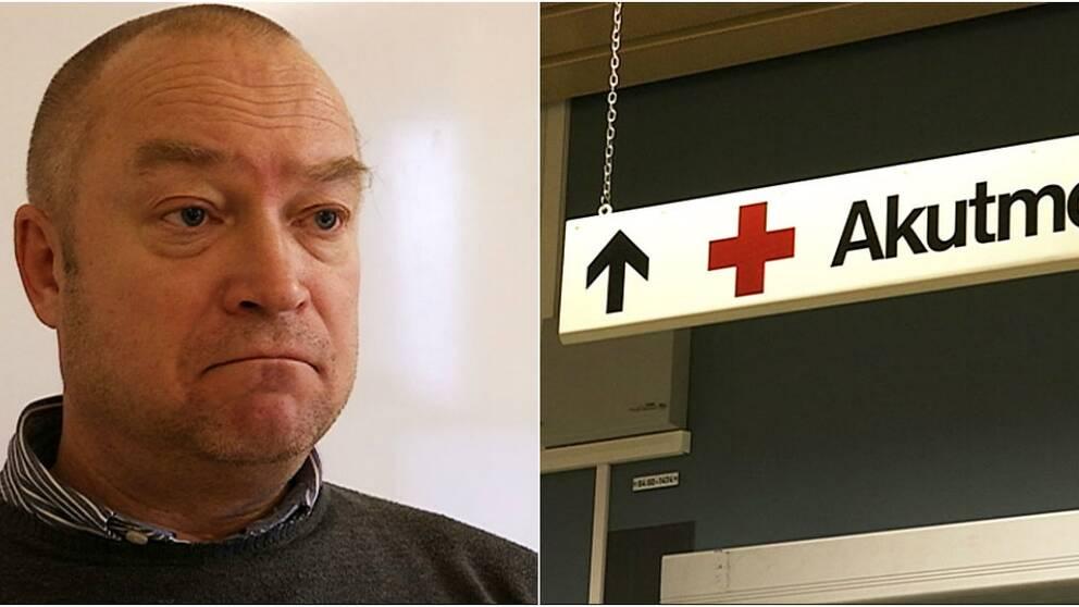 Jerker Persson, verksamhetschef medicin- och akutverksamheten Mölndals sjukhus.