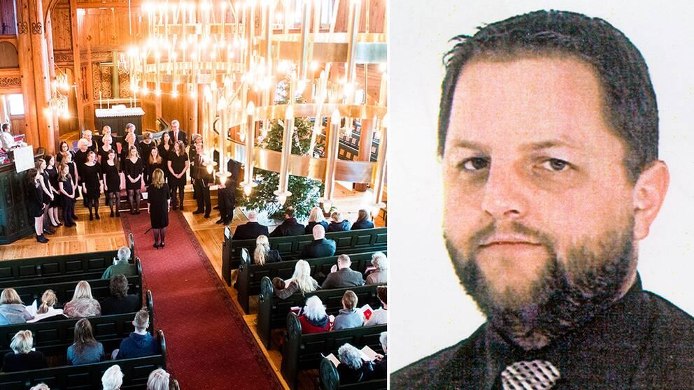 Kriminalvården har stoppat den livstidsdömde Helge Fossmo från att delta i en gudstjänst utanför fängelsemurarna.