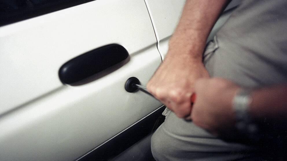 Biltjuv, inbrott, bilstöld
