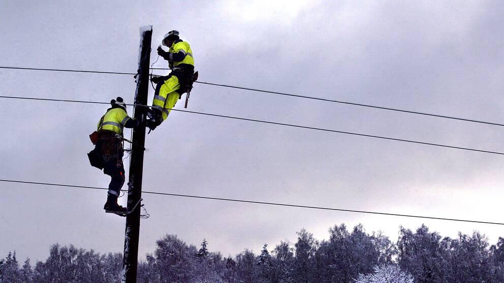 Reparation av ledningar