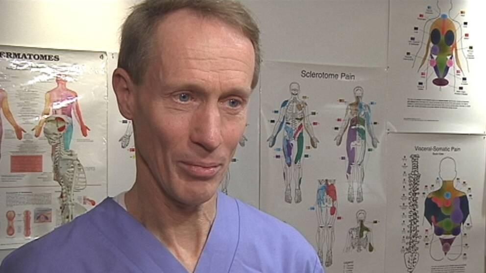 Läkaren och smärtforskaren Bo Christer Bertilson.
