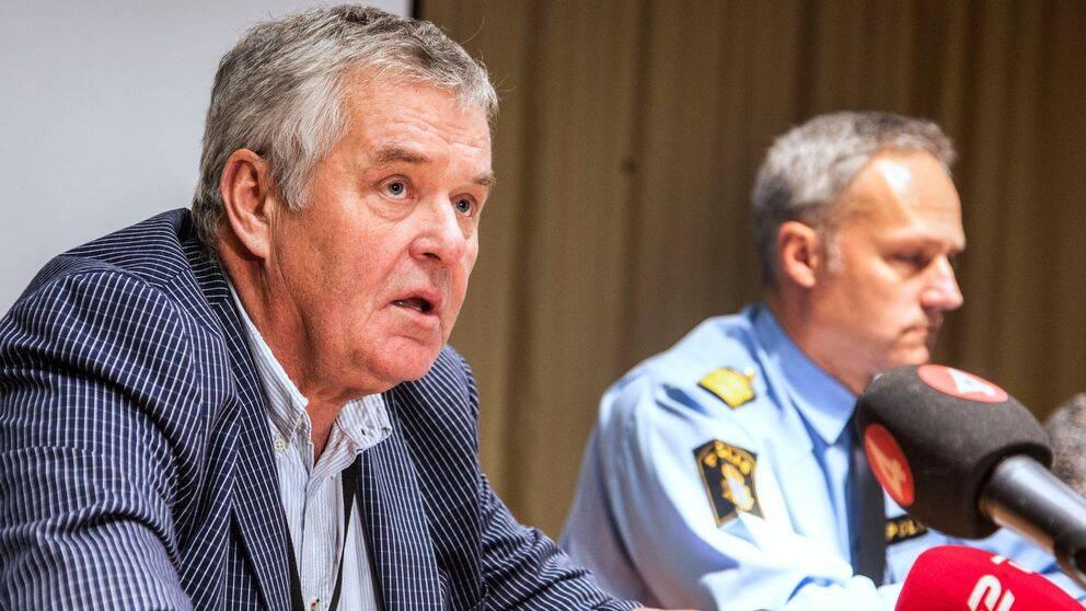 Förundersökningsledare JB Cederholm leder utredningen av mordet på 16-årige Ahmed Obaid