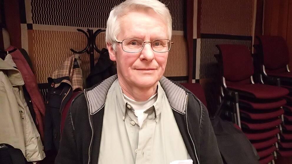 Forskningsrådets sekreterare och talesman Lars Mjönes.