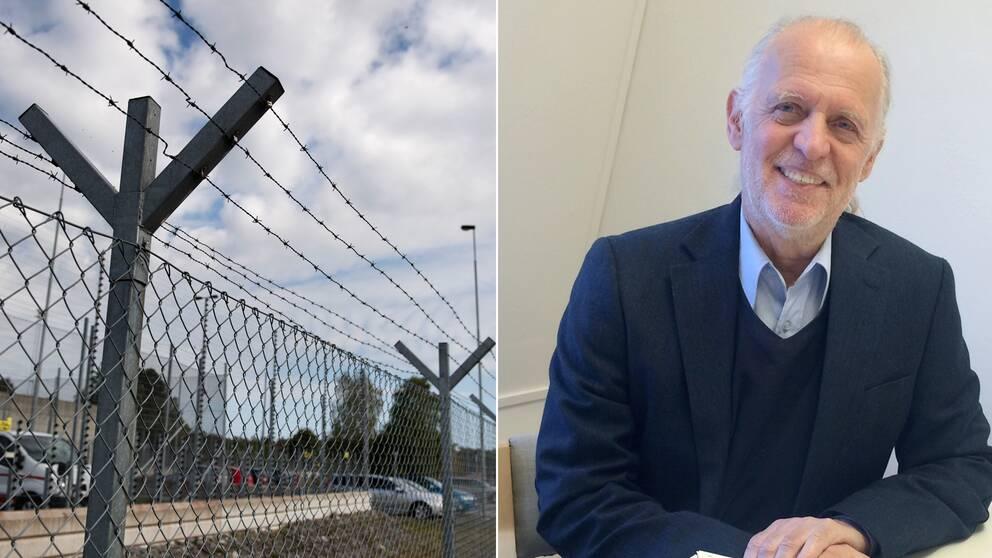 stängsel till fängelse, advokat Dick Levinson