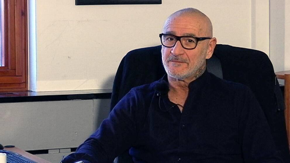 """""""Att låsa in är inte lösningen"""", säger Francisco Sansevrieri, 63, som dömdes för ett dubbelmord i Malmö för 20 år sedan."""