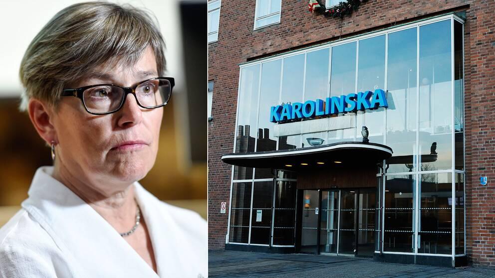 KS ansvariga för patientsäkerhet Nina Nelson Follin