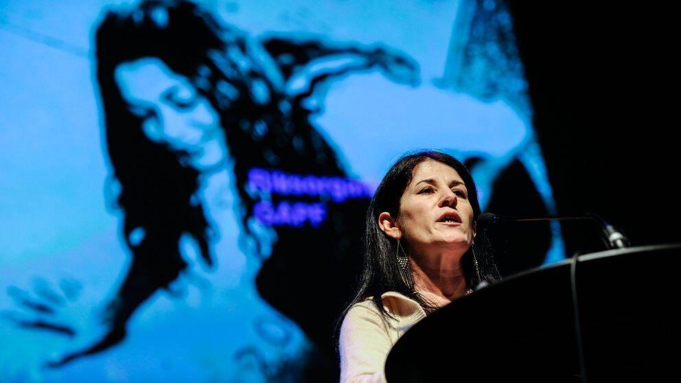 Sara Mohammed, verksamhetsansvarig för organisationen Glöm aldrig Pela och Fadime