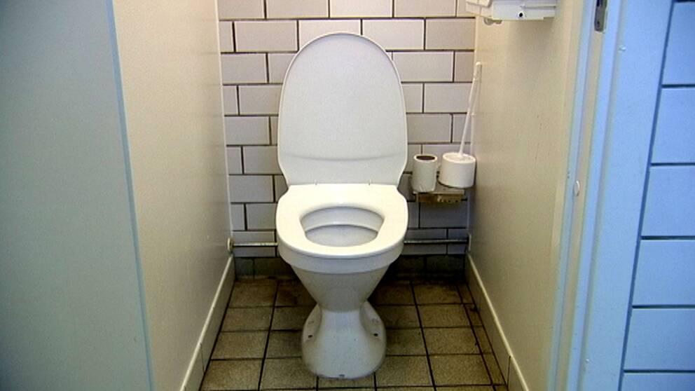 toalett på en skola