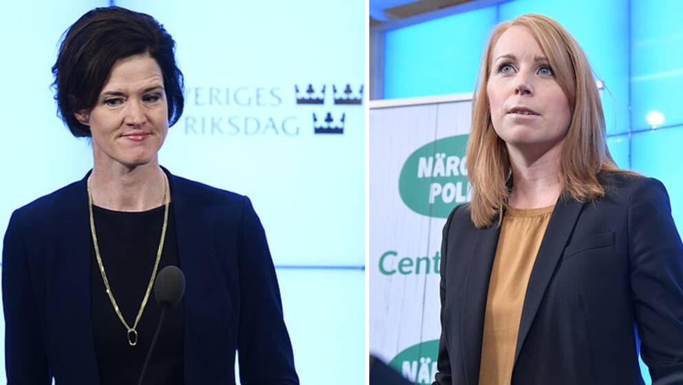 AKB och Annie Lööf, 19 jan.