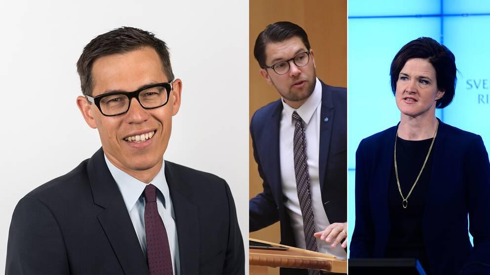 SVT Nyheters politikreporter Love Benigh.