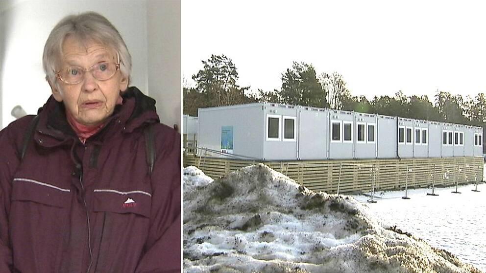 Tio personer på ett äldreboende i Värmdö kommun tvingas bo i containrar i ungefär ett år framöver på grund av att boendet måste renovera sina lokaler.
