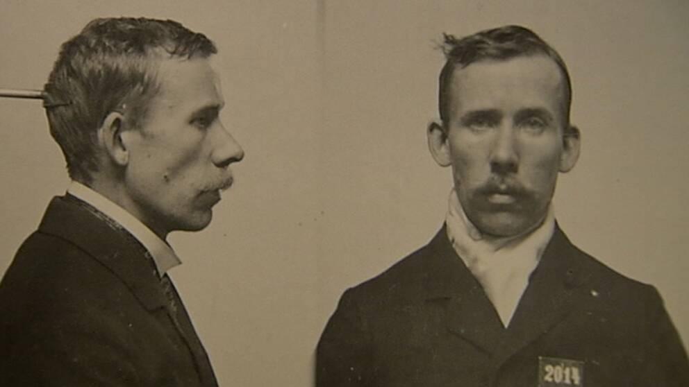 Johan Alfred Ander den siste svenske mannen som avrättades.