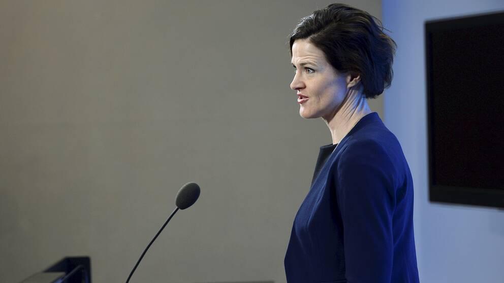 Moderaternas partiledare, Anna Kinberg Batra.