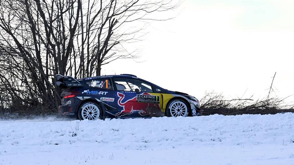 Sebastien Ogier vann det 85:e Monte Carlo-rallyt