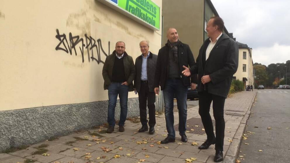 Riksdagsledamöter besöker trafikskolor i Södertälje