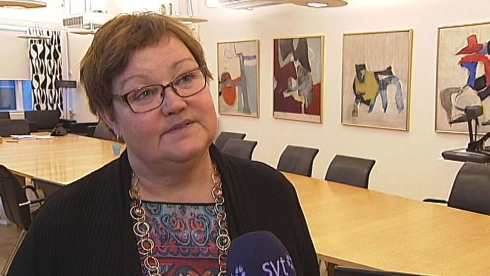 Yvonne Stålnacke (S) kommunalråd Luleå