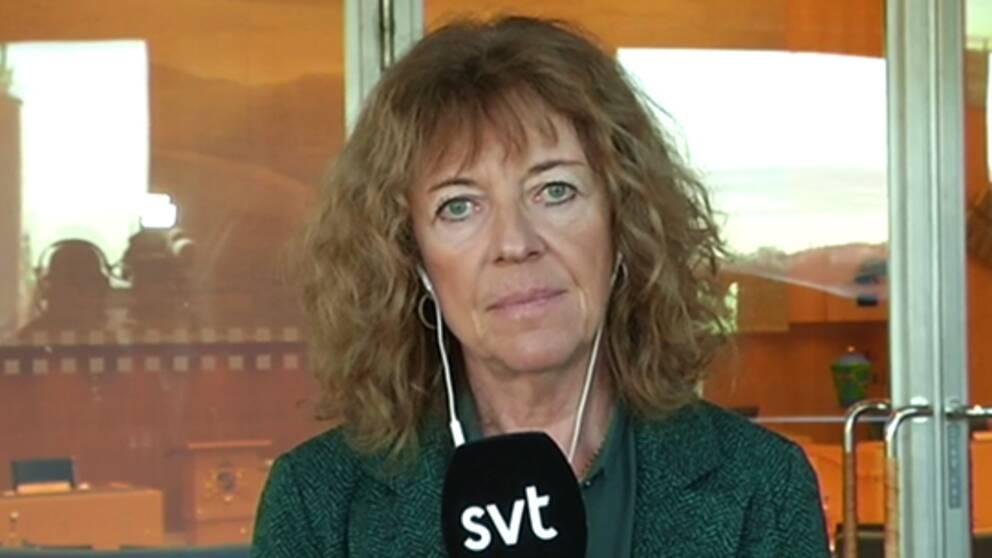 SVT:s inrikespolitiska kommentator Margit Silberstein