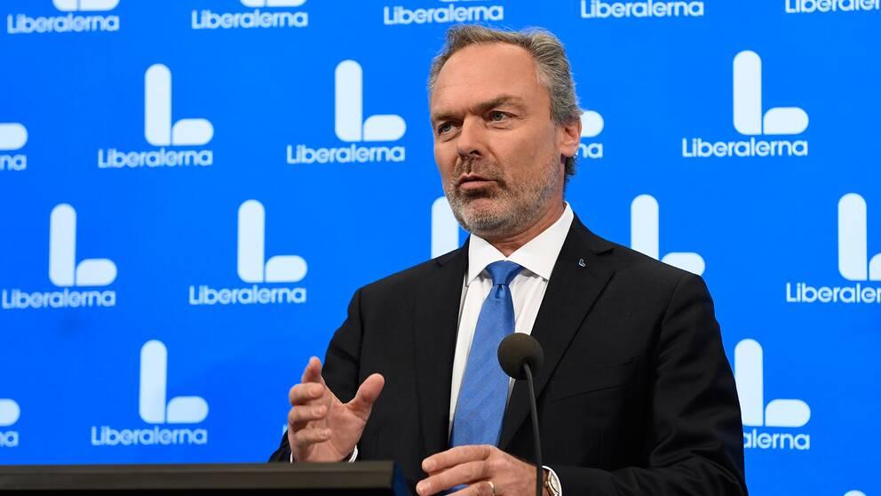 Liberalernas partiledare Jan Björklund