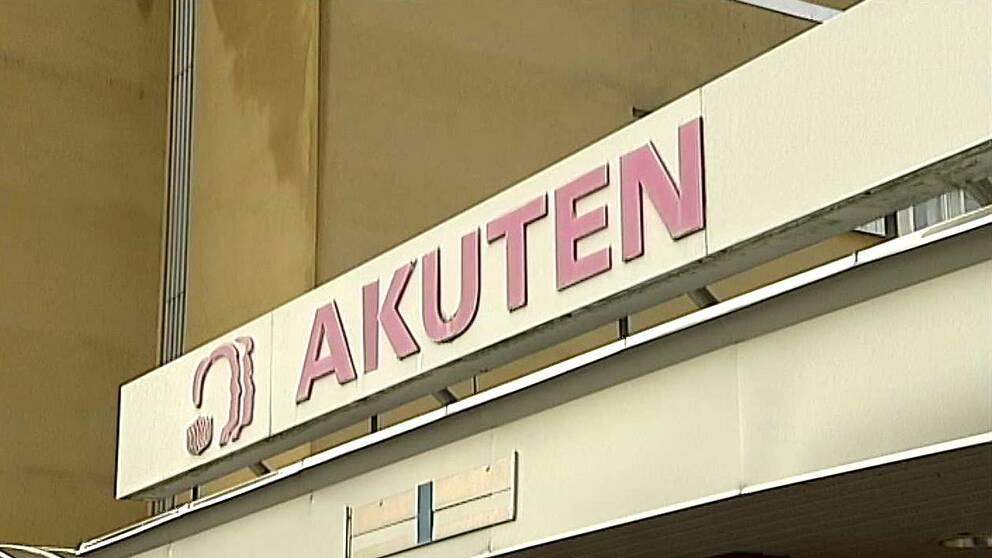 Akuten Kullbergska sjukhuset i Katrineholm.