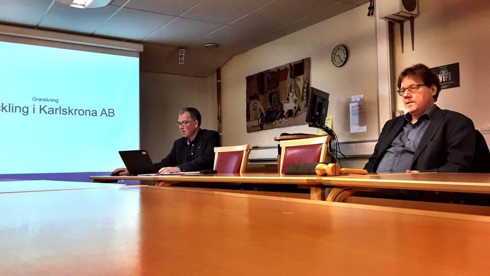 Presskonferens om Utvecklingsbolaget.
