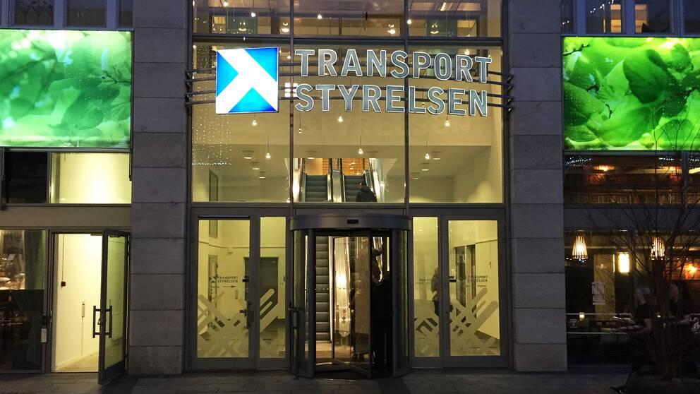 Transportstyrelsen entré Norrköping huvudkontor