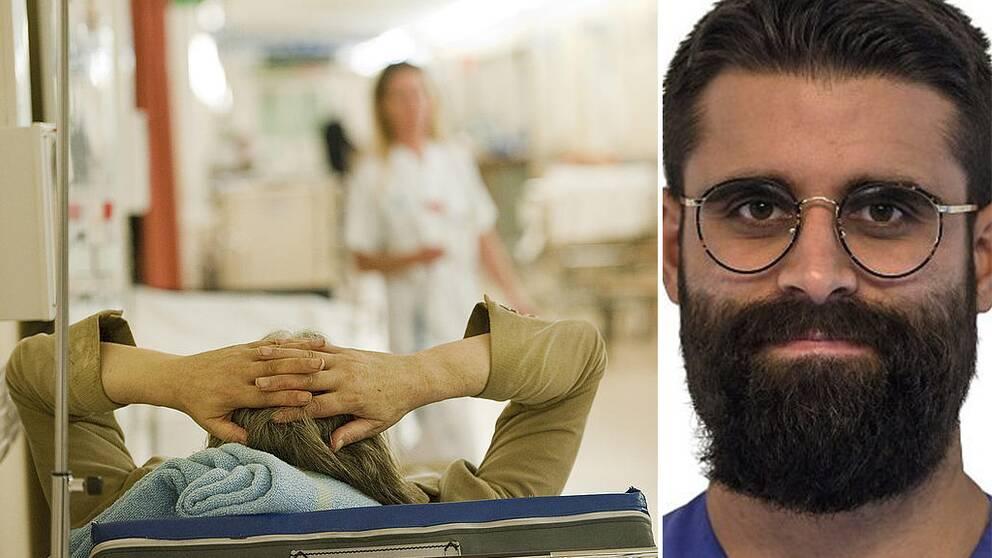Darius Barimani menar att mer pengar måste skjutas till för att höja lönerna och förbättra arbetsmiljön för Sveriges sjuksköterskor.