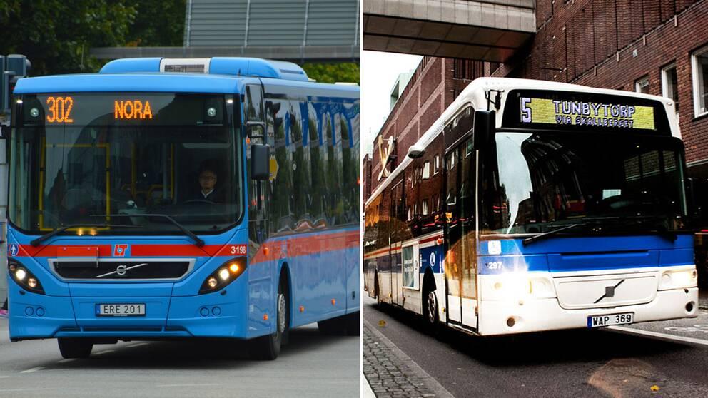 Länsbuss Örebro samt VL-buss