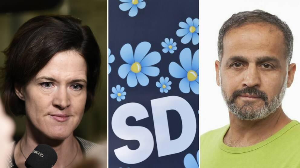Solnapolitikern Elias Hanna (M) som sitter som kommunfullmäktigeledamot i kommunen väljer nu att lämna partiet efter Anna Kinberg Batras SD-utspel.